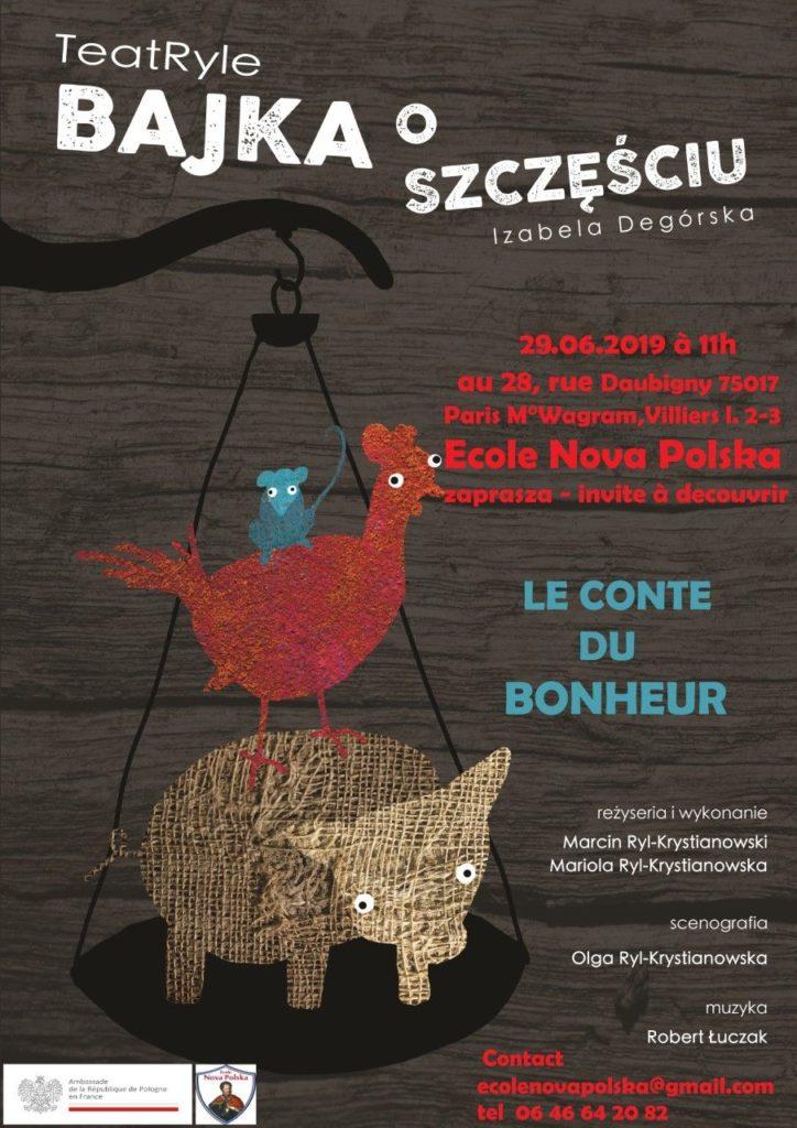 Spektakl Teatryle Bajka O Szczęściu W Paryżu Polskifr