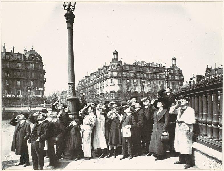 Paryż Na Starych Fotografiach Polskifr
